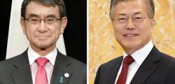 【日韓】文大統領「我々は喜んで日本と手を握る」→河野外相「国際法違反の状況を是正してほしい」